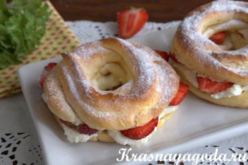 Заварные пирожные: рецепт с фото 80
