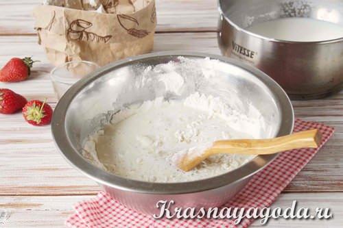 как делать заварное тесто